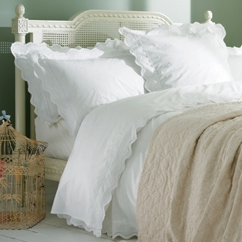 Broderie Anglaise Bed Linen Dream Home Pinterest Bed