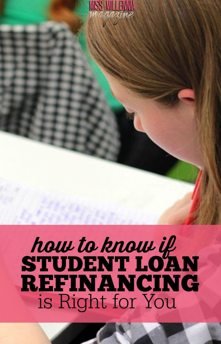 If you meet the criteria for student loan refinancing and would like to lower your interest rates, consider if it would be a smart option for you.