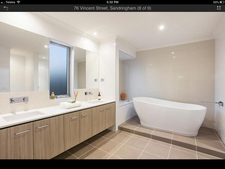 Laminex bathroom