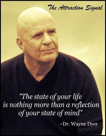 Dr. Wayne Dyer quote does your mindset allow for new opportunities or are you stuck by your state of mind and filter things out. ⭐️ www.PremierMarketingSystem.info