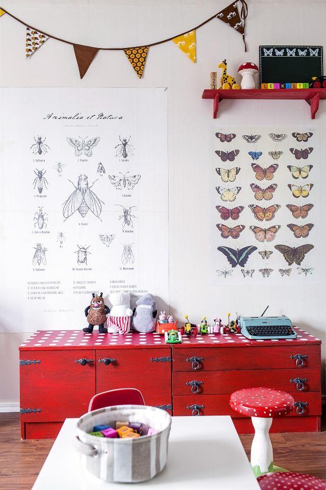 Pikkupojan huone vanhassa talossa  Unelmien TaloKoti