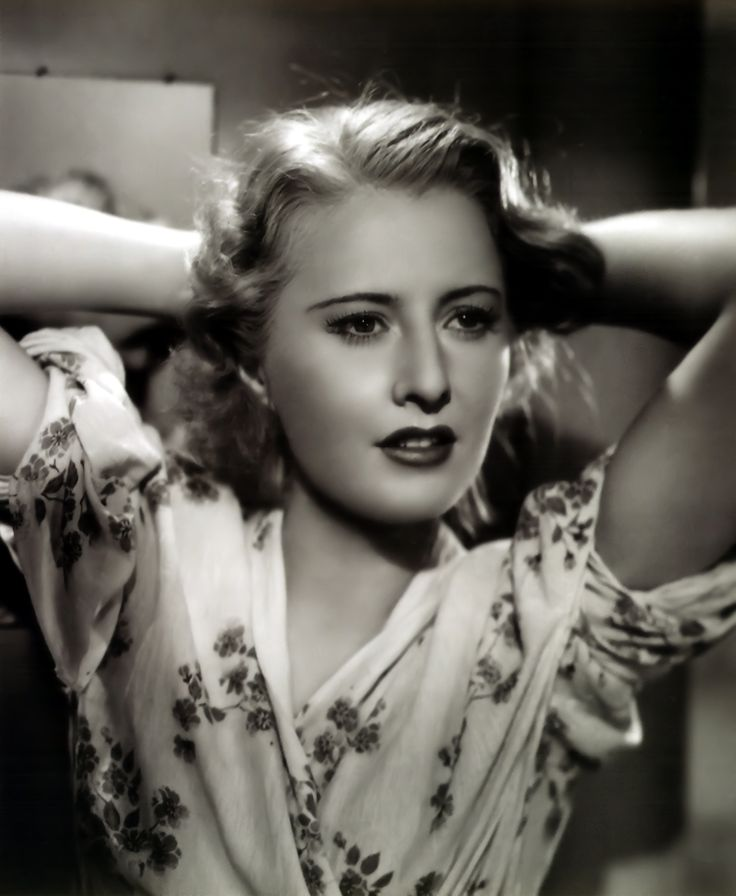 Barbara Stanwyck, she had a magnetic voice of course, but the lady had started to smoke at 9!