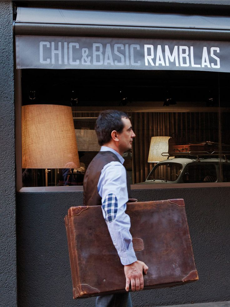 Chic & Basic Ramblas hotel   Barcelona, Spain   Chic & Basic, 2012  See full details and more images at http://blog.olighting.com/2013/10/09/chic-basic-ramblas-hotel-barcelona-spain-chic-basic-2012/