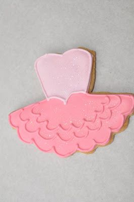 Princess Ballerina Cookie My sister Cathy asked me to make some custom cookies for her daughter Lily's fourth birthday party. Lily told he...