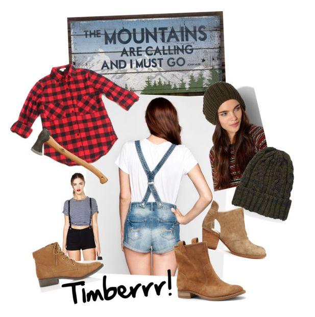 Womens lumberjack costume idea