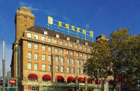 """'The historical """"Handelshof""""  - Mövenpick Hotel - in Essen a.d.Ruhr' von artus71 bei artflakes.com als Poster oder Kunstdruck $23.56"""