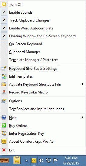 Comfort Keys Pro Riss nur – verwenden Sie Tastenkombinationen, um verschiedene Anwendungen zu starten …