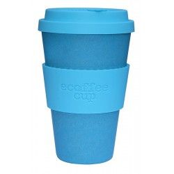 Ecoffee Cup Bambus To go Becher Aquaman türkis