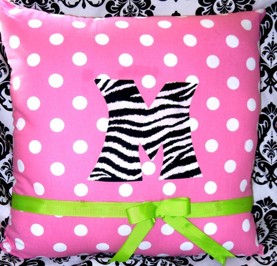 gold jewelry Cute pillow for Little Girls bedroom  Makenna