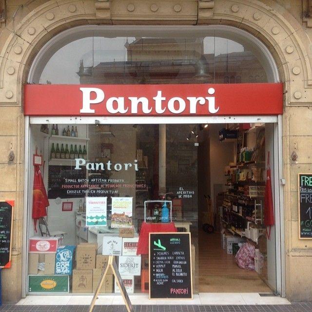 Tienda Pantori, San Sebastián.