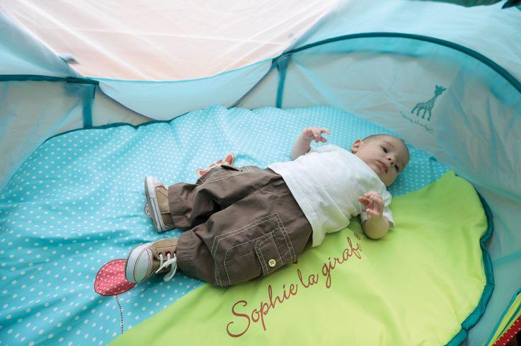 """Tente Nomade """"Sophie la girafe"""" #LUDI"""