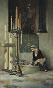 Θεόδωρος Ράλλης-Το λιβάνι 1907 Εθνική Πινακοθήκη