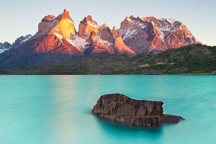 """Cuernos del Paine Sunrise"" – Torres del Paine National Park, Chile"
