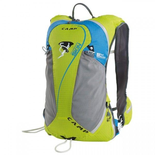 Batoh Camp Skinvychádza z koncepcie inovatívneho strihu, ktorý bol navrhnutý vspolupráci shorskými bežcami. Princíp batohuCamp Skinvychádza snápadu vytvoriť pohodlný batoh na beh a skialpinizmus. #skialp #competition