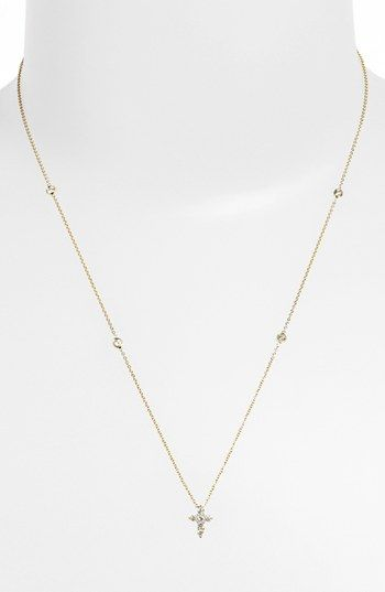 186 best roberto coin images on pinterest roberto coin coins and roberto coin tiny treasures diamond cross pendant necklace nordstrom exclusive nordstrom aloadofball Gallery