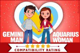 Gemini man and Aquarius woman relationship compatibility