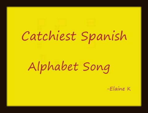 how to spell i love this song in spanish