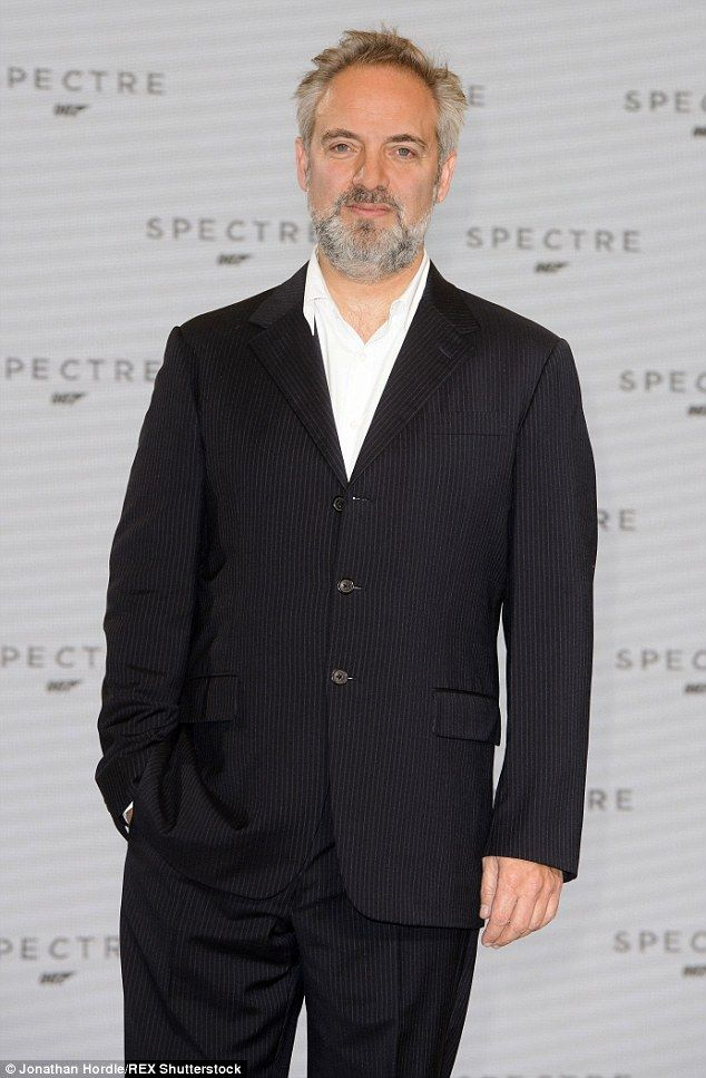 Quitter: Sam Mendes has admitted Spectre will be the last James Bond movie he'll direct