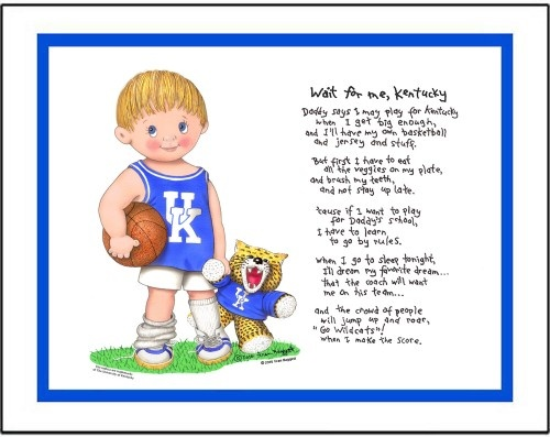 Kentucky Wildcats Wall Quotes Quotesgram: Love This! I Wanna Make A UK Print For The Boys Room With