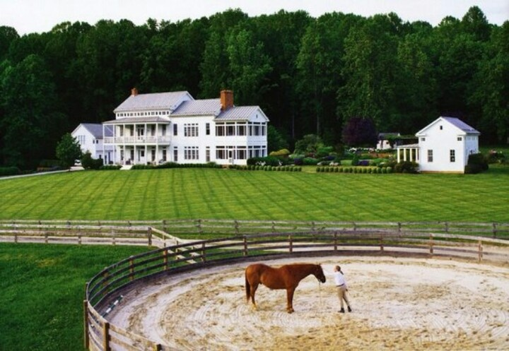 Nice Horse Ranch Love The Landscaping Idea Dream Home