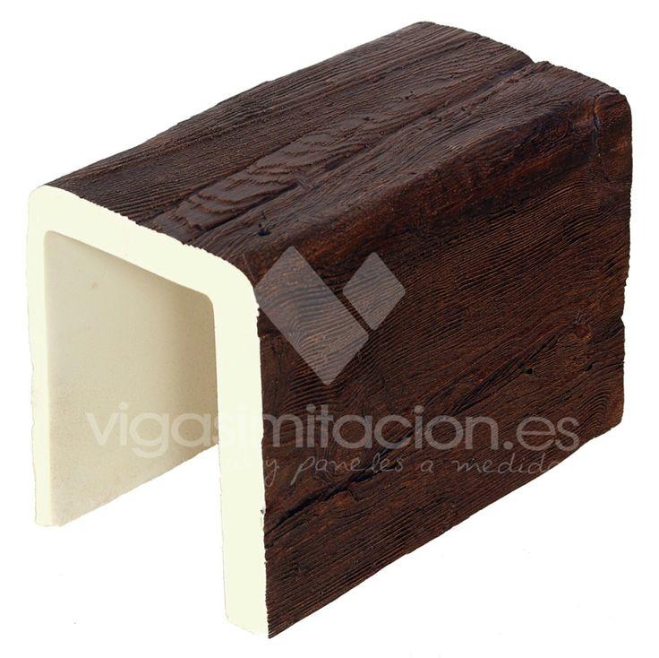 vigas imitación madera rústicas decorativas vigas poliuretano y poliestireno falsas .
