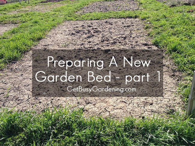 If you want to prepare a new garden bed for planting, it involves, weeding, composting and tilling the soil and then mulching it to create rich soil.