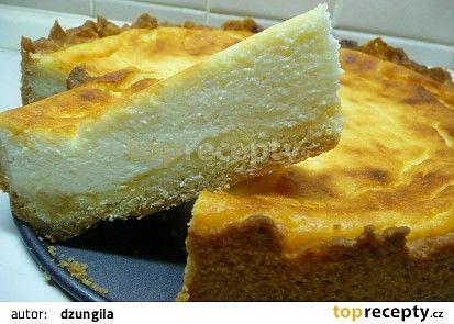 Lehký tvarohový koláč recept - TopRecepty.cz