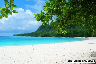 Champagne Beach, Vanuatu, South Pacific Islands