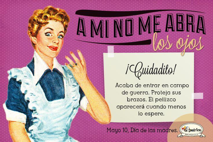 """""""A mi no me abra los ojos"""" www.elteatrico.co"""