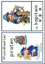 Woordkaarten Piraten - groot