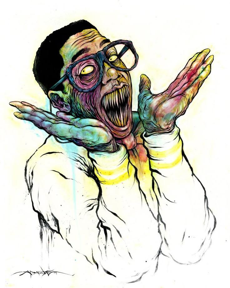 diseño grafico retrato figurativista