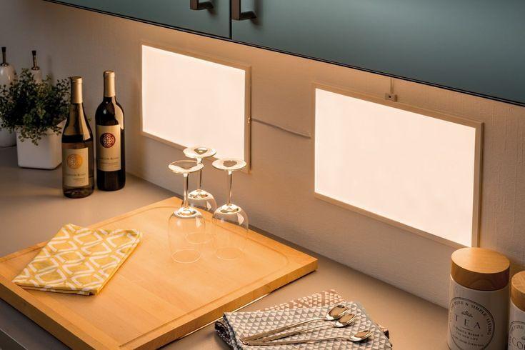 Lust auf einen neuen Fliesenspiegel in der Küche? Die Glow-LED ...