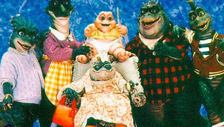 Recuerdas a bebé Sinclair de Dinosaurios? Esta era la persona detrás del personaje. Para no creer