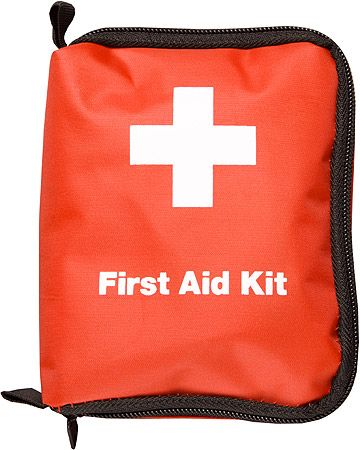 Stay safe with a First Aid Kit. Many kits to choose from.