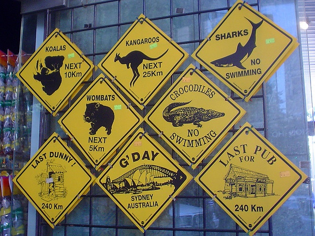 australians souvenirs, via Flickr.