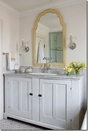 47 best images about my yellow and grey bathroom for Yellow bathroom decor pinterest