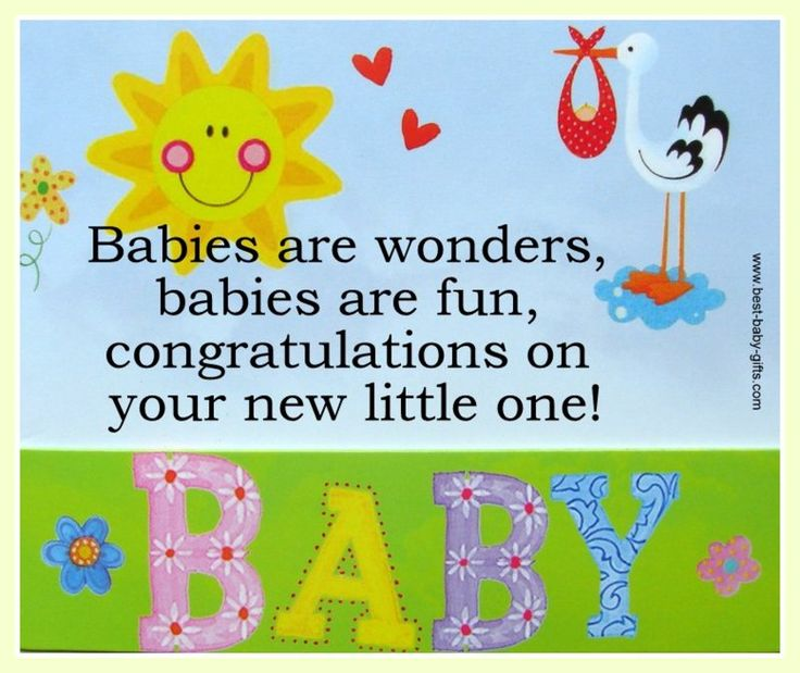 Congratulations On New Baby Girl Quotes: Sample Messages For Your Baby Congratulations Cards