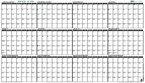 "- IN-FULL-VIEW - Extra Large Wall Calendar - Yearly 2015 Planner Horizontal Laminated - Wet Erase 24"" x 42"" (2442-15h), http://www.amazon.com/dp/B00Q5HHGMC/ref=cm_sw_r_pi_awdl_N1i6ub1R473R0"