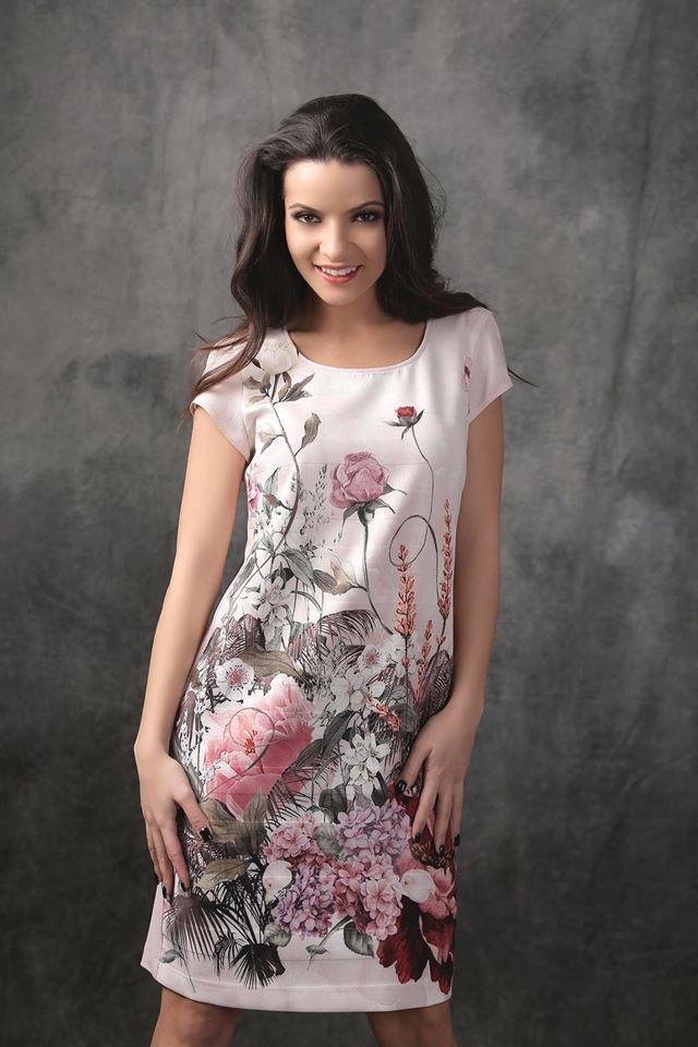 SPRING TIME Dress Spring17 | YOKKO #floralprints #flowers #colors #spring17 #gardenparty #fashion #dress #style #women #yokko