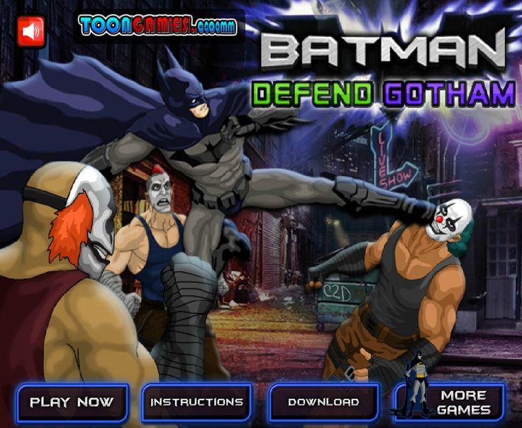 En este juego tendrás que ayudar a Batman a defender a la ciudad Gótica de los malvados payasos musculosos, golpea y no pares de golpear por tantos enemigos que aparecen. no dejes que te ganen y no dejes que triunfe el mal.