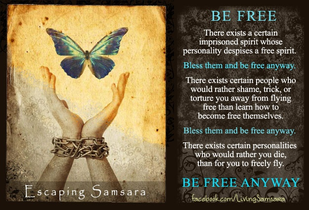 Freedom of Spirit. Be Free.