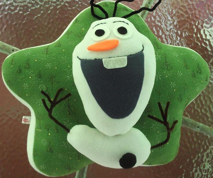 Cojín de Olaf.