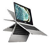 Best Laptop for writers ASUS Chromebook Flip C302CA-DHM4 12.5-inch Touchscreen Convertible Chromebook,  Intel Core m3, 4GB RAM, 64GB Flash Storage, All-Metal Body, USB Type C, Corning Gorilla Glass, Chrome OS A Chromebook does not run Windows, Android or Apple Mac OS. As we discussed before, that chrome books require internet connections. Otherwise, it will not work for you. So you must have an internet connection going on as well.