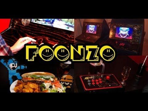 Foonzo - retro video game /board game downtown bar