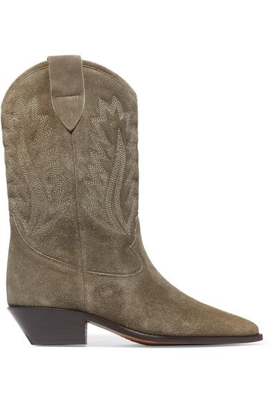 Isabel Marant Taupe suede Pull on Made in Italy