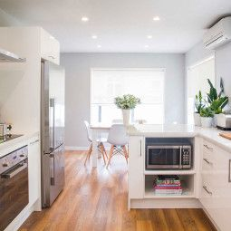 This kitchen went from dull and dark to light and bright - Homes To Love