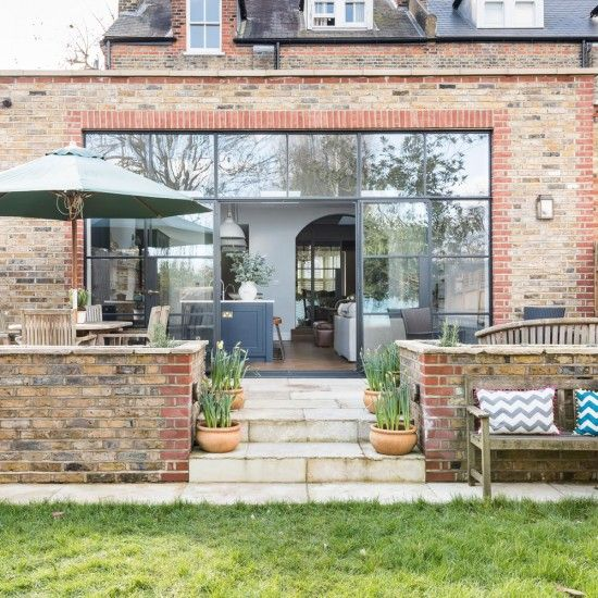 Garden | Take a tour of this reconfigured Edwardian semi in London | housetohome.co.uk
