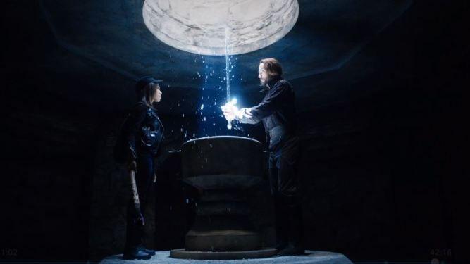 Ichabod Crane and Abbie Mills recover Methuselah's Sword | Sleepy Hollow – S2E10 – Magnum Opus