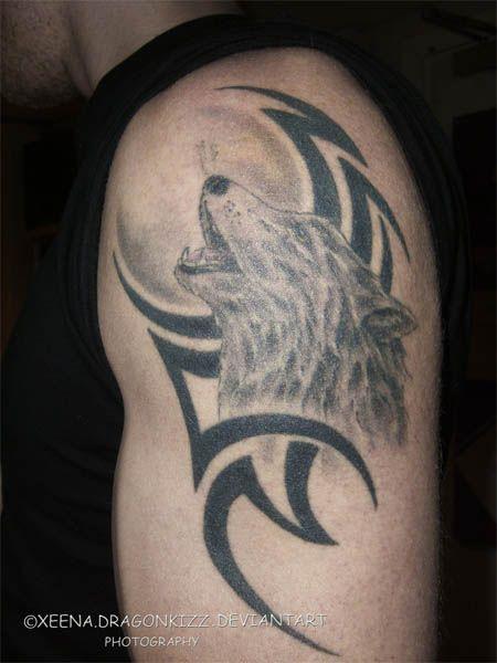 Tattoo Tattooz: Cool Tribal Wolf Tattoos 2011