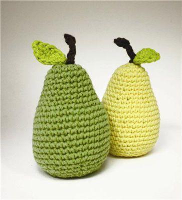 free pattern pear
